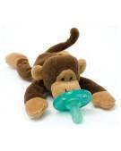 wubbanub smoczek z przytulanką małpka