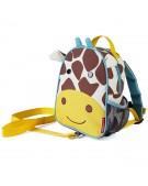 skip hop plecaczek ze smyczką żyrafa