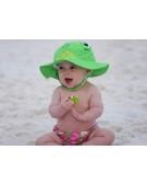zestaw na plażę czapeczka i pieluszka
