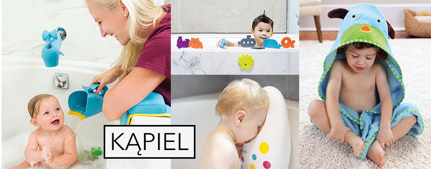 Z dzieckiem w kąpieli